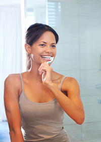 Brushing Oak Park Dental OR 97305