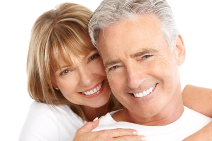 Smiling couple after getting Restorative Dentistry by Oak Park Dental in Salem, OR.